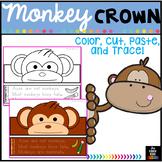 Animal Hat - Animal Crown - Monkey Hat