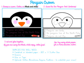 Animal Hat Penguin Crown - Penguin Hat