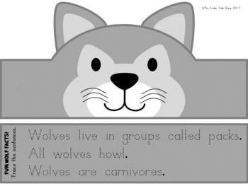 Animal Hat - Animal Crown - Wolf Hat