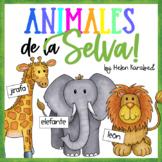 "Spanish Animals ""¿Quién Soy Yo?"""