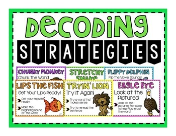 Animal Decoding Strategy Posters | Brights