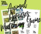 Animal Defense Matching Game