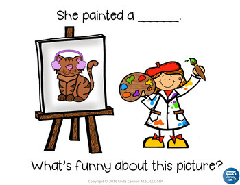 Animal Descriptions With Little Artists,  No Print - Teleptherapy