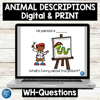 Animal Descriptions With Little Artists