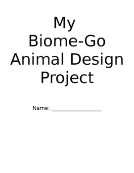Animal Design Project