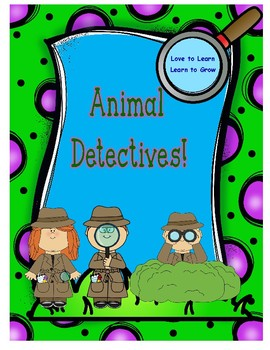 Animal Detectives Board Game