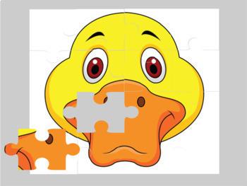 Animal Digital Puzzles
