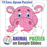 Animal Digital Puzzles