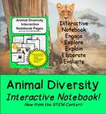 Animal Diversity Interactive Science Notebook - Distance L