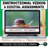 Animal Diversity Invertebrates Instructional Videos & Quiz