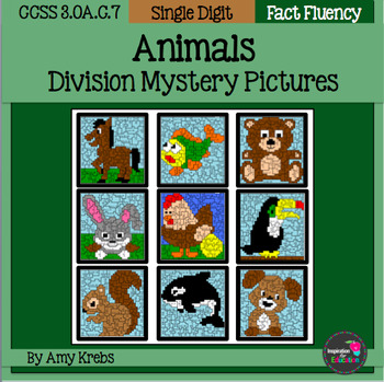 Animal Division Mystery Pictures