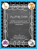 Animal Dots  - Animal Matching/Sorting Activity (jungle, farm, forest, sea)