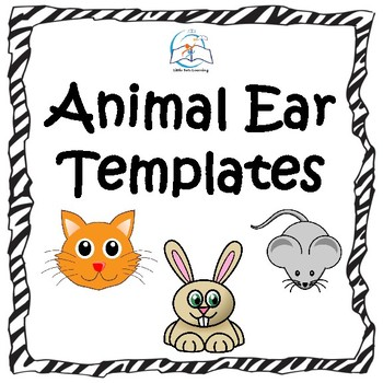 Animal Ear Templates