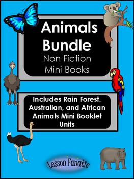 Animal Non Fiction Mini Books Bundle Set