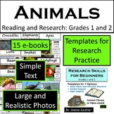 Animals: Easy Readers and Research Project