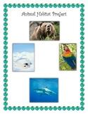 Animal Ecosystem Diorama Project