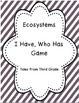 Animal Ecosystems, Adaptations and Interdependence BUNDLE