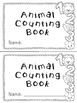 Animal Emergent Reader Counting Book