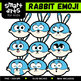Animal Emoji Clip Arts COLOSSAL Bundle