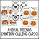 Animal Feelings Bingo Game - Emotions - Elementary School Counseling
