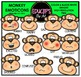 Animal Emoticons Clip Art Mega Bundle