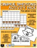 Animal Emotions (Fox, Bear, Dog) - Feelings Pack