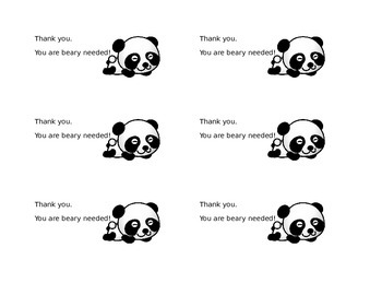 Animal Encouragement Cards