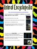 Animal Encyclopedia Slideshow and Internet Research Project