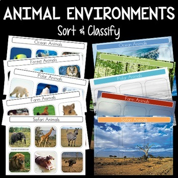 free pdf of images of animal and their environments