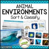 Animal Environments: Sort & Classify