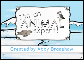 Animal Expert NGSS Research and Write Book