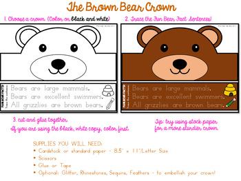 Animal Hat Bear Crown - Bear Hat