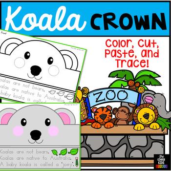 Animal Hat Koala Crown - Koala Hat