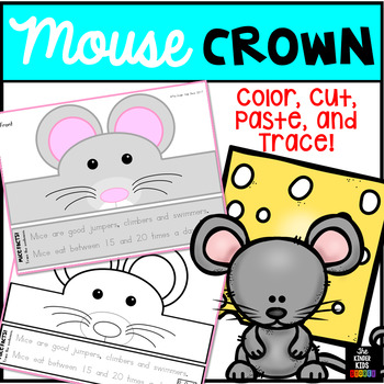 Animal Hat Mouse Crown - Mouse Hat