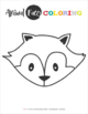 Animal Faces Coloring Pages