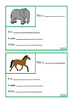Animal Fact File Biology, Mini Book Set 1, Autism, Special Education