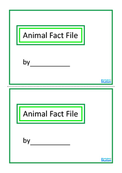 Animal Fact File, Biology Mini Book Set 3, Autism & Special Education