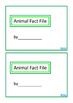 Animal Fact File, Biology Mini Book Set 3, Autism & Specia
