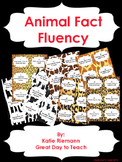Reading Fluency Practice--Animal Facts