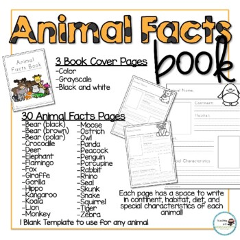 Animal Facts Book