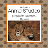 Animal Facts Booklets Activities Collection - 12 Animal Studies