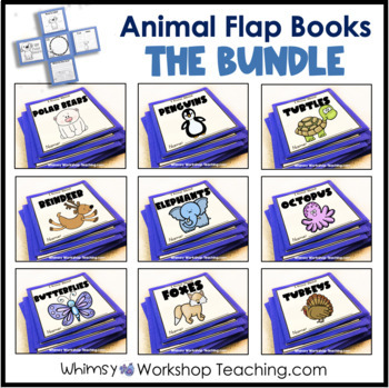 Animal Flap Books BUNDLE of 10