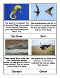 Animal Facts Matching Cards