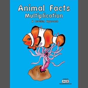 Animal Facts Multiplication - Math Facts Acquisition System