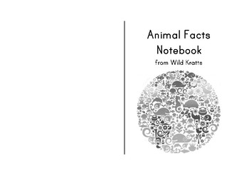 Animal Facts Notebook