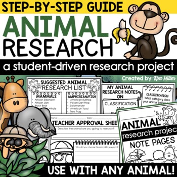 Animal Research Guide and Animal Book Project