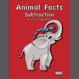 Animal Facts Subtraction - Math Facts Acquisition System