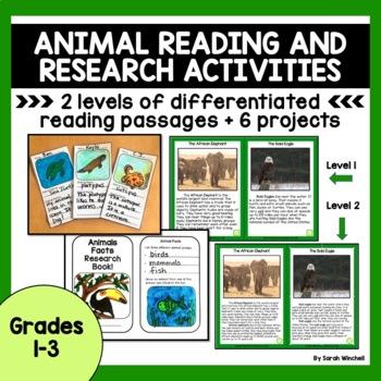 Animals Informational Reading
