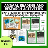 Task Cards Reading Comprehension Passages and Questions