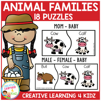 Farm Animal Families